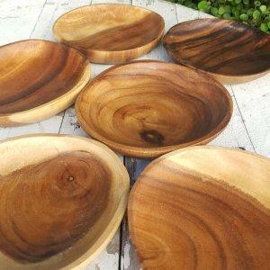 アカシアWOOD・プレート・木製皿(SS)