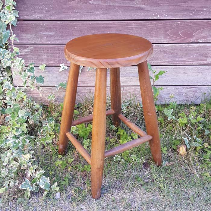 スツール・丸椅子・レトロデザイン椅子 メインイメージ