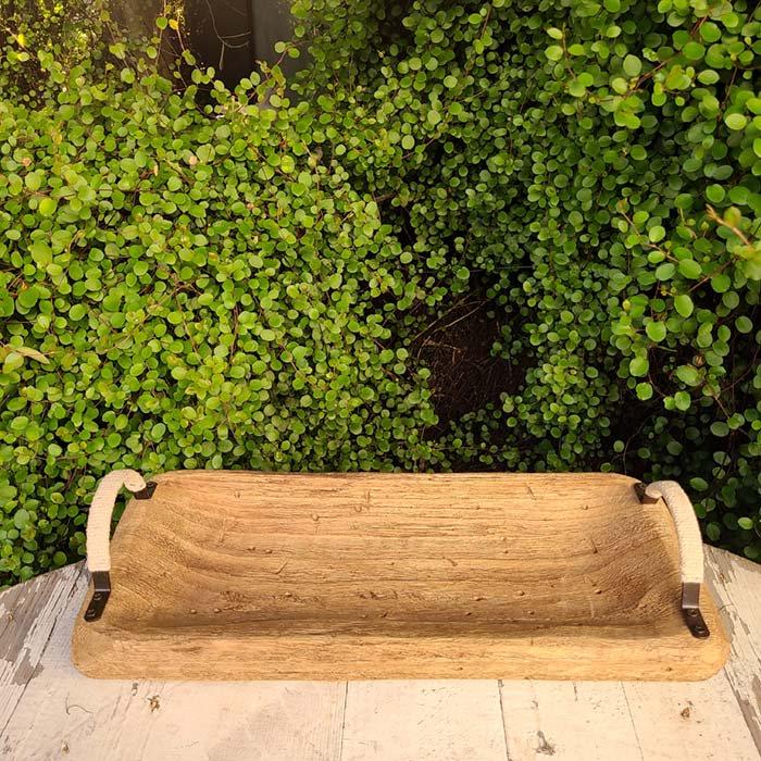 木製・ナチュラル・ウッドトレイ サブイメージ