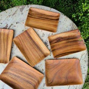 木製・スクエアプレート(L)・ウッドトレイ
