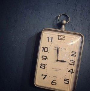 壁掛け時計・ウォールクロック・アンティーク風時計