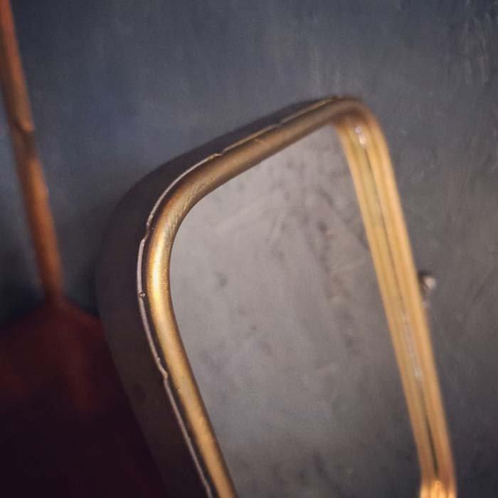 スタンドミラー・アンティーク調・スクエア・鏡 サブイメージ