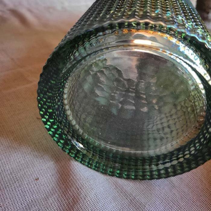 フォレストグリーン・シリンダー型・ガラスフラワーベース サブイメージ