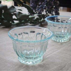 ガラスカップ・ガラス器・レトロモダン・ソーダガラス・ブルー