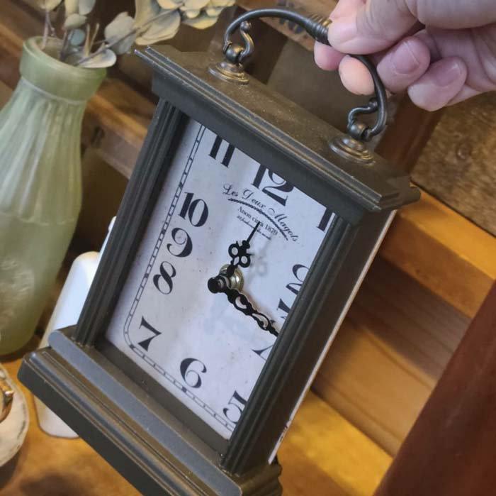 アンティーク調・置き時計・スクエアクロック サブイメージ