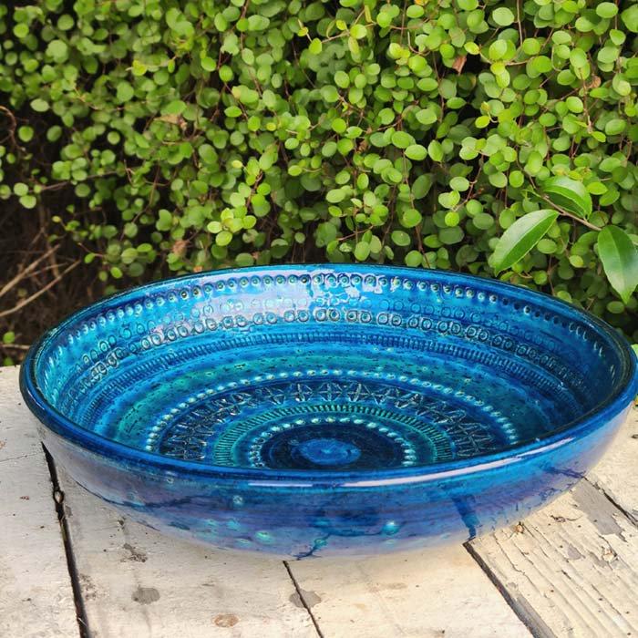 ビトッシ・フラビア(FLAVIA)・リミニブルー・プレート・陶器・イタリア サブイメージ