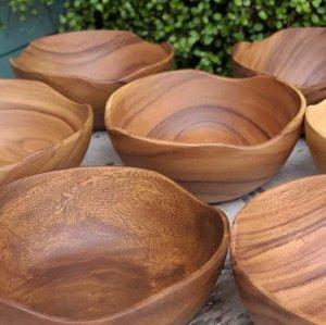木製・ウッドボウル・ナチュラル・Lサイズ