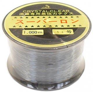スーパーロン ナイロンテグス ボビン巻 20号 1000m /  道糸 / ハリス