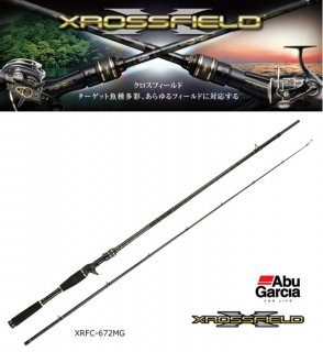 アブ ガルシア クロスフィールド XRFC-672MG (ベイト) / ルアーロッド(お取り寄せ商品)