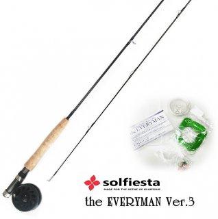 ソルフィエスタ (solfiesta) フライフィッシングセット エブリマン ver.3 2800 #5