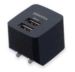 多摩電子 tama コンセントチャージャー 2.1A 2ポート TA53UK 【本店特別価格】