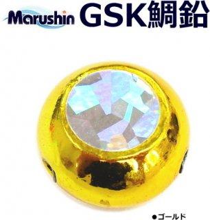 マルシン漁具 ハイドラ GSK鯛鉛 (60g/ゴールド) / 鯛ラバ タイラバ / SALE (メール便可)