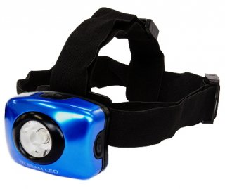 TryItem 3W ビーム LED ヘッドライト ブルー / SALE10 【本店特別価格】