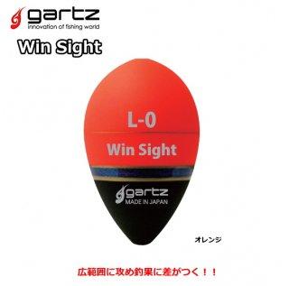 ガルツ ウィンサイト Mサイズ オレンジ 3B / ウキ (メール便可) (O01) 【本店特別価格】