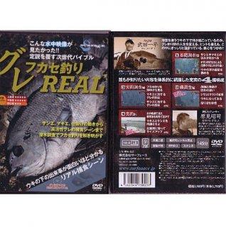 DVD サーフェース (SURFAAACE) グレフカセ釣りREAL