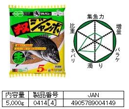 マルキュー   チヌジャンボ ウエットタイプ 1箱 (4袋入り)  (お取り寄せ商品)