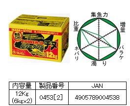マルキュー   パワーダンゴチヌ 12kg×2箱 (お取り寄せ商品) [表示金額+送料別途]