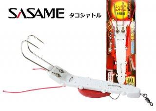 ササメ  タコシャトル (40号) / タコ釣り専用仕掛け / タコ専用テンヤ