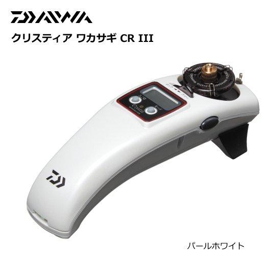 ダイワ クリスティア ワカサギ CR3 パールホワイト / 電動リール