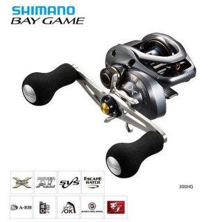 シマノ ベイゲーム 300HG (右ハンドル) / リール(お取り寄せ商品)