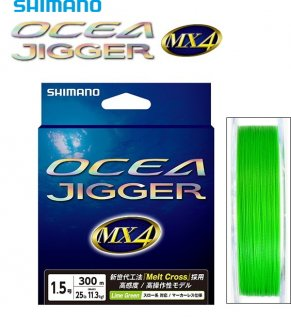 シマノ オシア ジガー MX4 PE PL-O74P 0.6号 300m 【本店特別価格】
