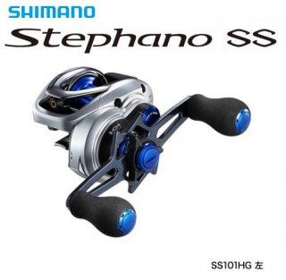 シマノ ステファーノ SS 101HG 左ハンドル / ベイトリール(お取り寄せ商品)