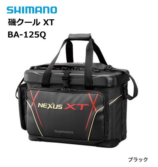 シマノ 磯クール XT BA-125Q ブラック 25L / クールバッグ