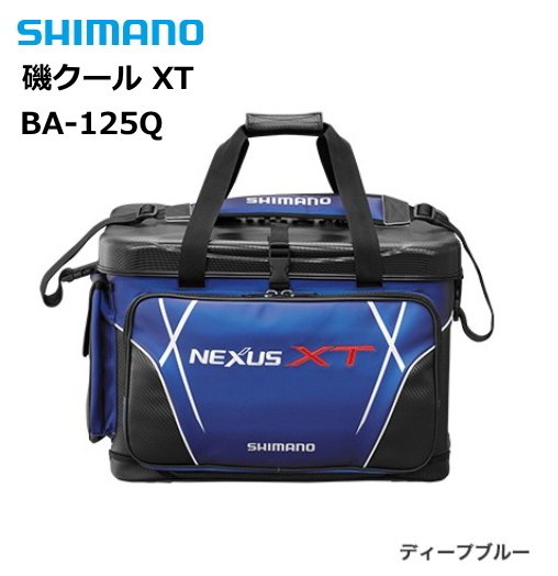 シマノ 磯クール XT BA-125Q ディープブルー 25L / クールバッグ