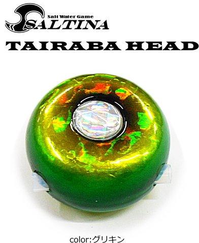 ソルティナ タイラバヘッド 遊動式 60g グリキン / 鯛ラバ鉛 / SALE10