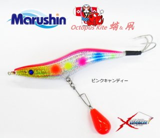 マルシン漁具 オクトパス カイト 4.0号 ピンクキャンディー / タコエギ 蛸餌木 / SALE