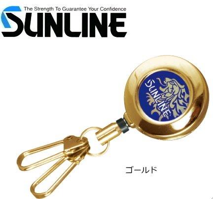 サンライン ピンオンリール (ダブルスナップ) SAP-1025 ゴールド