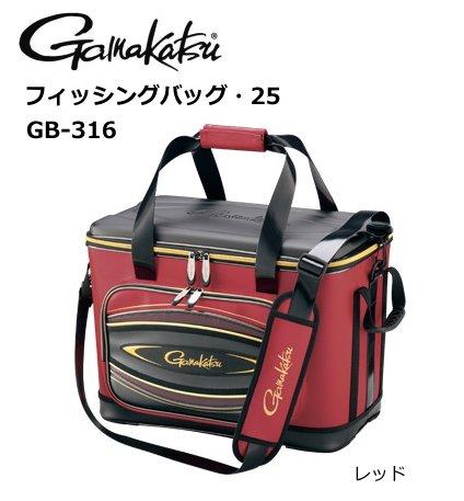 【送料無料】 がまかつ フィッシングバッグ・32 GB-320 レッド
