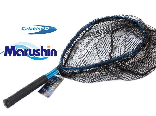 マルシン漁具 スモールネット (ラバータイプ)  / ソルトライトゲーム&トラウトに最適  / SALE
