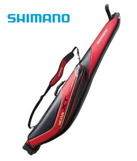 シマノ ロッドケース XT WIDE RC-124Q 145RW レッド (お取り寄せ商品)  (大型商品 代引不可)
