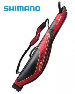 シマノ ロッドケース XT RC-122Q 125R レッド  (大型商品 代引不可) (お取り寄せ商品)