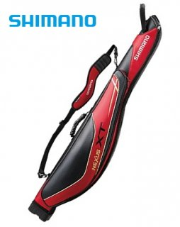シマノ ロッドケース XT RC-122Q 145R  レッド  (お取り寄せ商品)  (大型商品 代引不可)