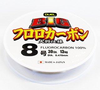 デュエル BIG フロロカーボン 大物仕様 3.5号 100m / ハリス (メール便可) 【本店特別価格】