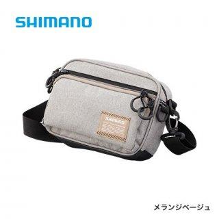 【セール 40%OFF】 シマノ ヒップバッグ WB-021Q メランジベージュ Mサイズ 【本店特別価格】