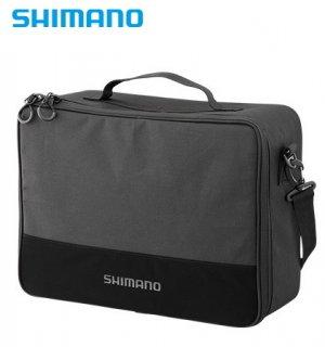 シマノ リールポーチ PC-029R L ブラック (お取り寄せ商品)