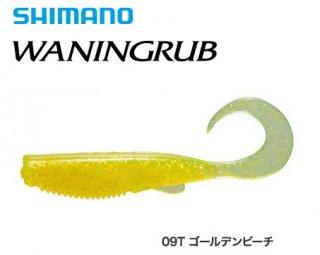 シマノ 熱砂 ワーニングラブ OW-340R 4インチ 09T ゴールデンビーチ (5本入) / ワーム ルアー (メール便可)