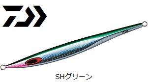 【セール】 ダイワ ソルティガ BSジグ 130g SHグリーン / メタルジグ (メール便可)