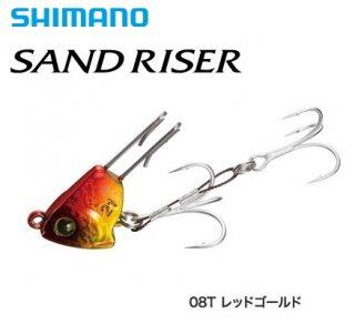 シマ ノ 熱砂 サンドライザー OO-221R 21g 08T レッドゴールド / ルアー (メール便可)