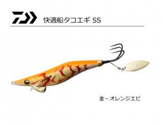 ダイワ 快適船タコエギ SS 3.5号 金−オレンジエビ / タコエギ 蛸餌木