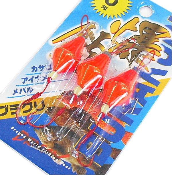 マルシン漁具 ブラクリ 5号 (3個入) / 根魚、穴魚仕掛け / SALE (メール便可)
