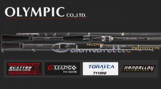 【数量限定セール】 オリムピック 18 ヌーボ カラマレッティ プロトタイプ オフショアモデル GNCPRC-662M-S / 釣竿 【送料無料】