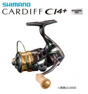 シマノ 18 カーディフ CI4+ 1000SHG / スピニングリール (送料無料)(お取り寄せ商品)