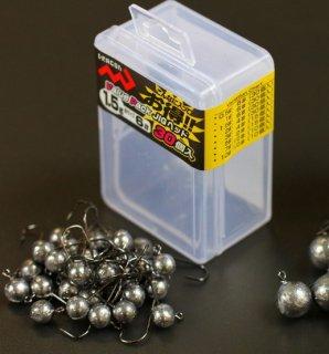 マルシン漁具 バリューパック JIGヘッド 3g #4 (15個入) / 徳用ジグヘッド (メール便可)