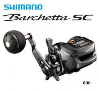 シマノ 18 バルケッタ SC 800 / ベイトリール(お取り寄せ商品)