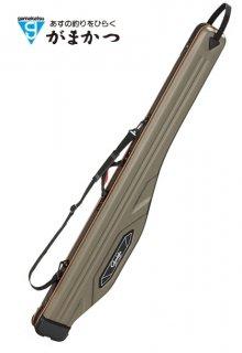 がまかつ 成型ロッドケース (スリム) GC-277 チタングレー (お取り寄せ商品) (大型商品 代引不可)