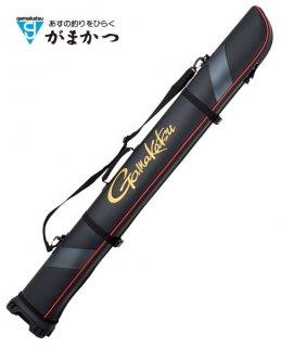 がまかつ ワイドストレートロッドケース GC-275 ブラック 155 (お取り寄せ商品) (大型商品 代引不可) 【本店特別価格】